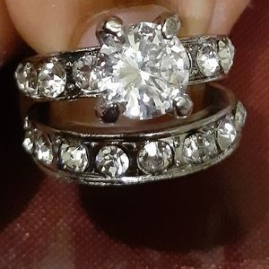 💍❤💍2-Pc.Engagement Ring Set💍❤💍